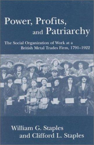 Power, Profit and Patriarchy : The Social Organization of Work at a British...