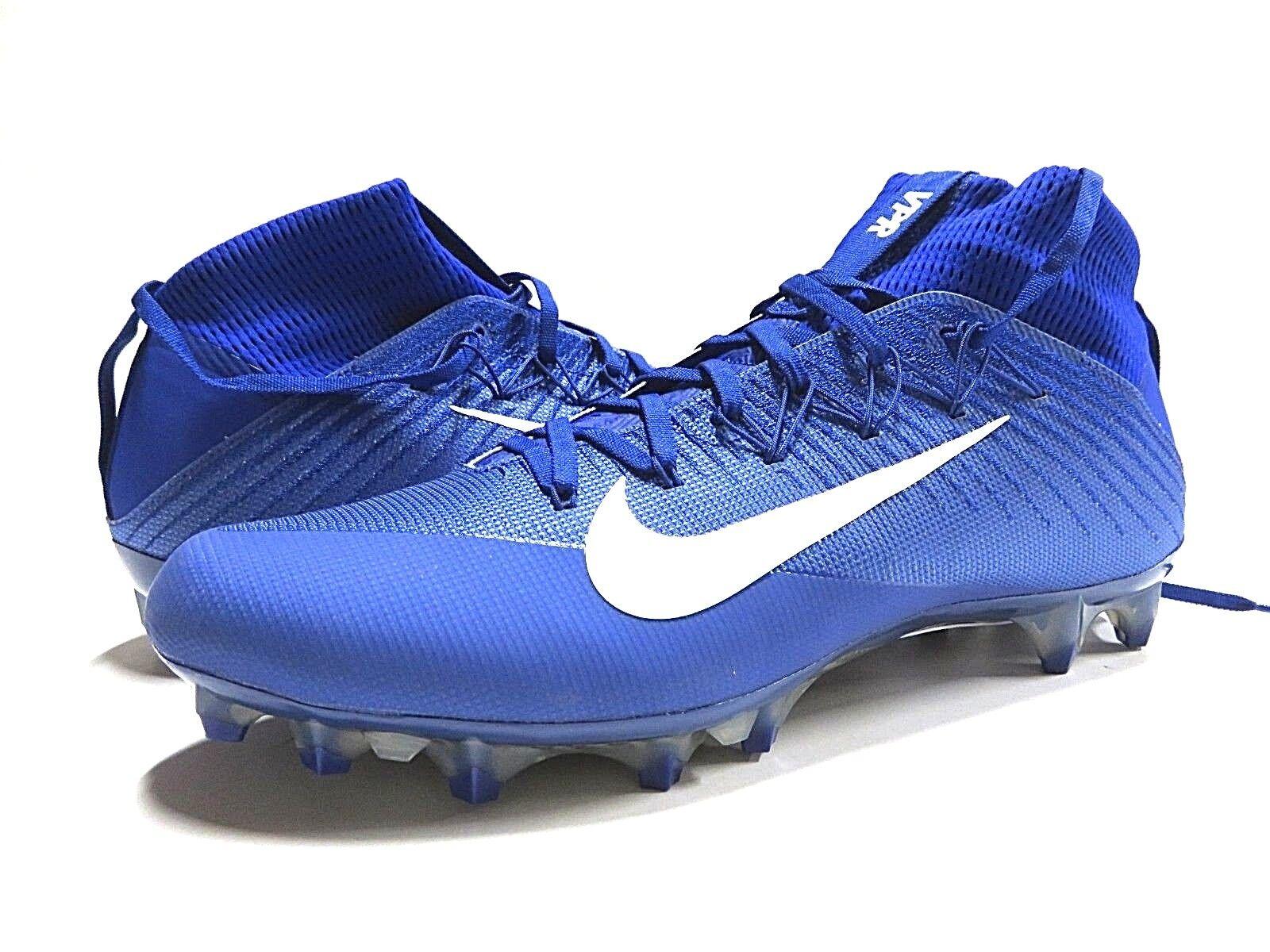 NWT Nike Vapor Untouchable 2 CF Royal bluee Football Cleats Men's Size 12.5