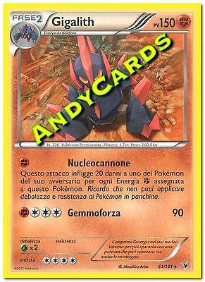 ITALIANA POKEMON ANDYCARDS VITTORIE REGALI RARA HOLO HAXORUS 88//101