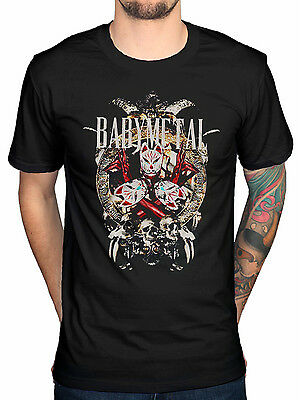 Official Babymetal Faces T-Shirt Japanese Metal Pop Suzuka Nakamoto Yui Mizuno