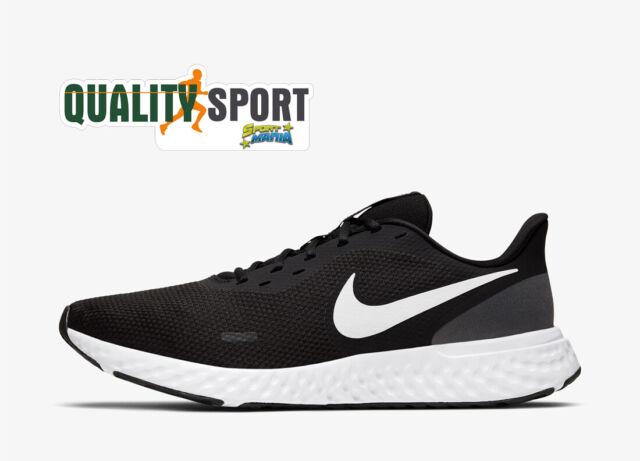 Nike Revolution 5 Nero Scarpe Uomo Sportive Running Palestra BQ3204 002 2020