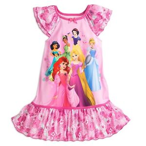 3b7b212145 Image is loading NWT-Disney-Store-Disney-Princess-Nightgown-Nightshirt -Sleep-