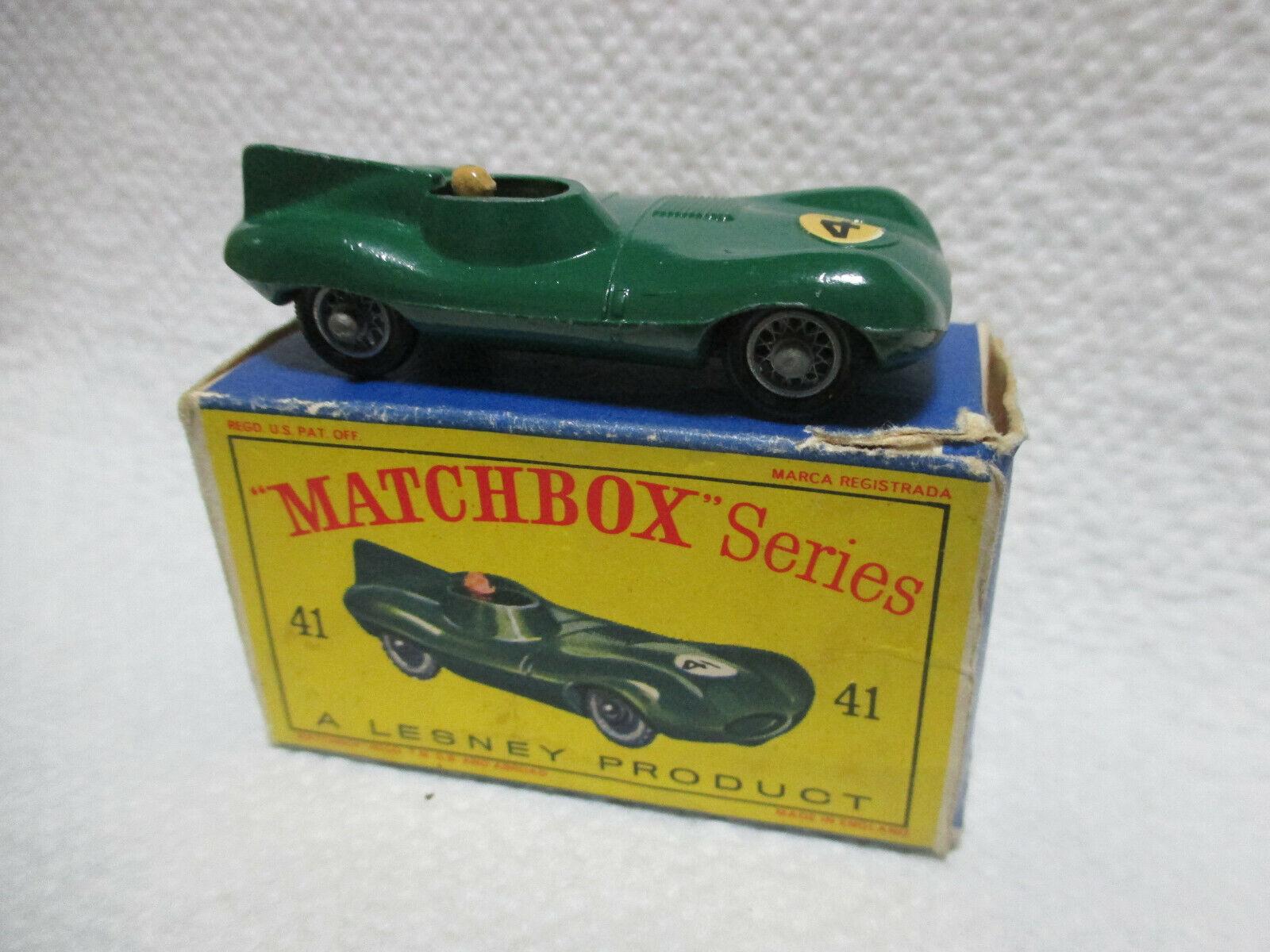 Matchbox 41 Jaguar D-Type RARITÄT in OVP