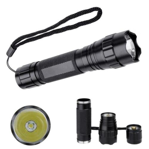 Ultrafire 501B 7500LM 5 Modes LED Flashlight Torch Hunting Waterproof Light FS