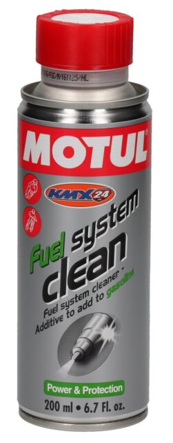 MOTUL combustible Sistema Limpiar Limpiadores del de 200 ML para