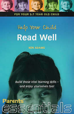 """""""VERY GOOD"""" Adams, Ken, Help Your Child Read Well: For your 5-7 year old child."""