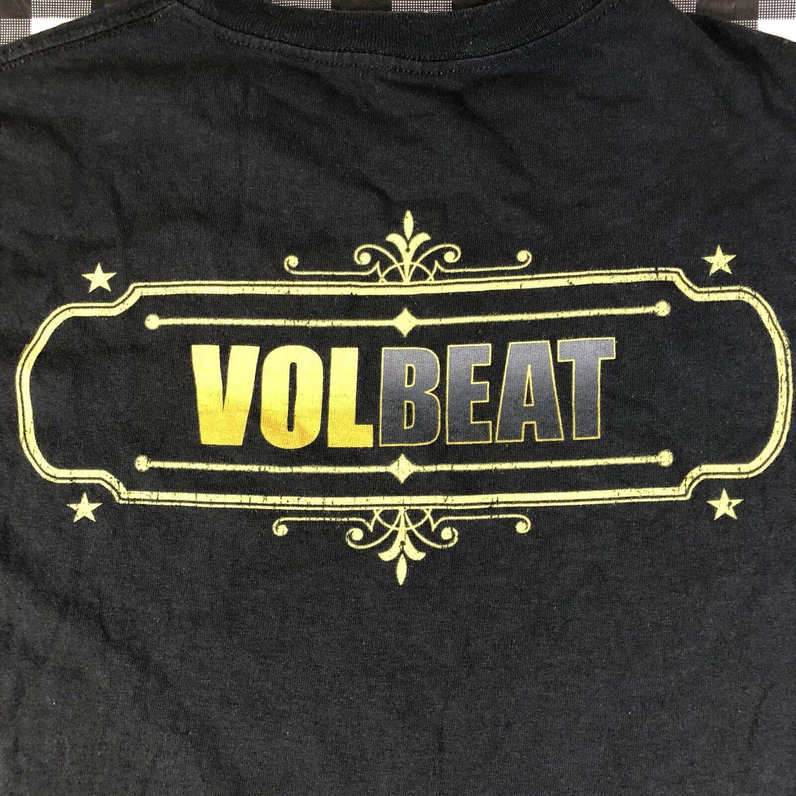 Volbeat Black Bart Outlaw Cowboy Rock Band 2013 T… - image 6