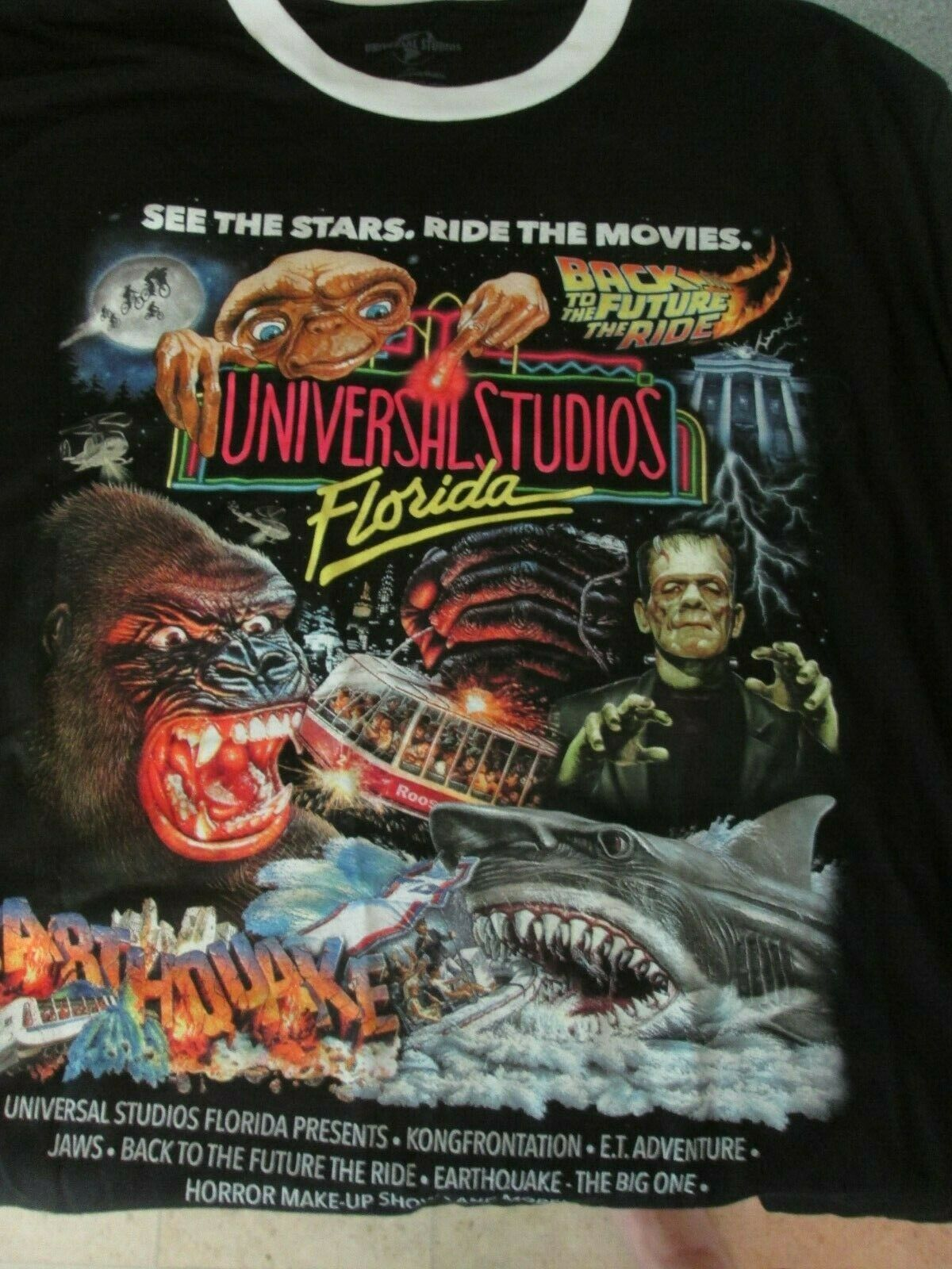 Universal Studios Florida Poster Movie 11x17