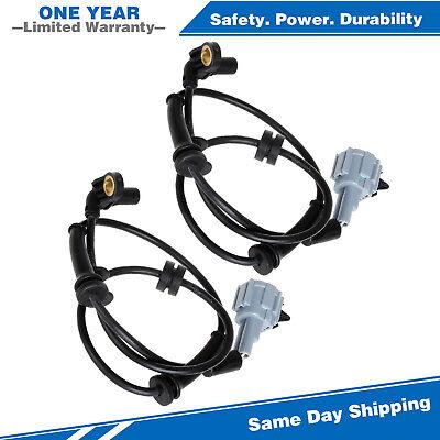 4pcs ABS Wheel Speed Sensor Front+Rear For 2004-2007 Infiniti QX56 5.6L