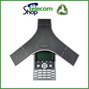 Details about Polycom IP7000 IP Conference Phone in Silver 2200-40000-001
