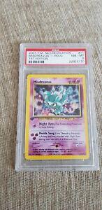Pokemon Card Misdreavus Neo Revelation Holo 1st Edition PSA 8 11/64