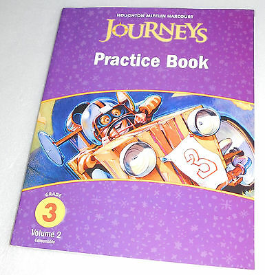 Houghton Mifflin Harcourt Journeys Practice Book Student Workbook Grade 3 V2 9780547249155 EBay