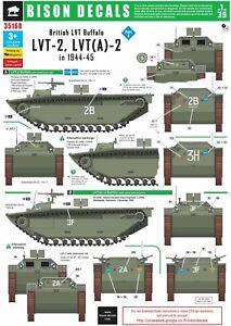 Bison-Decals-1-35-British-Amph-1-LVT-A-2-and-LVT-2-35168