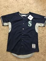 Majestic Seattle Mariners Youth Mlb Jersey L 14-16 Msrp $50