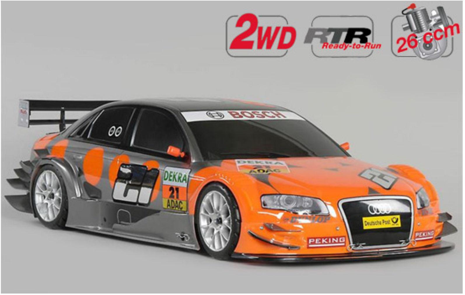 FG Modellsport NEW Sportsline 2WD RTR AUDI A4 Albers 26 CCM 164147r
