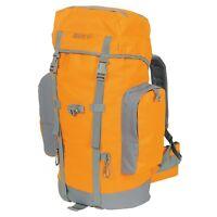 45 Liter Rescue Orange Grey Gear Hiking Backpack Survival Day Bag Pack Camping