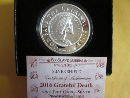 2016 Slave Queen  Grateful Death proof   #6 of Series Silver Shield