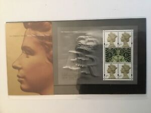 GB-Her-Majesty-s-Stamps-Stamp-Show-2000-Miniature-Sheet-Presentation-Pack-VF