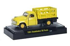 1951 Studebaker 2R Truck gelb, M2 Machines Auto Trucks (21A), 1:64