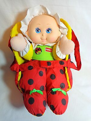 Playskool Doll 1997 My Little Ladybug with Carrier Nylon Plush