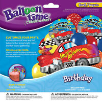 Balloon Time Sports Car Birthday Balloon Pack 321315