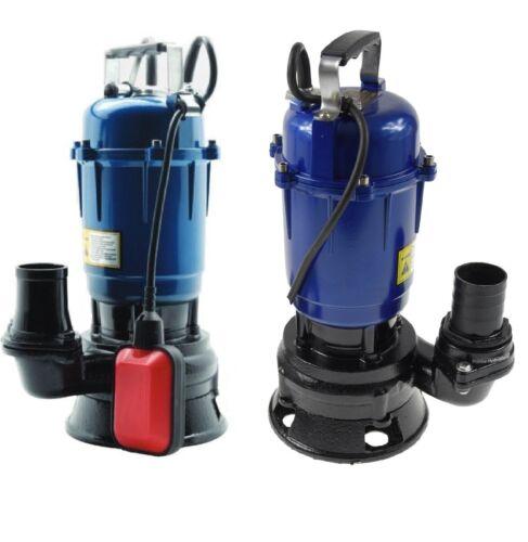 Fäkalienpumpe Tauchpumpe Schmutzwasserpumpe Magnum 550W 18000l//h Hammer