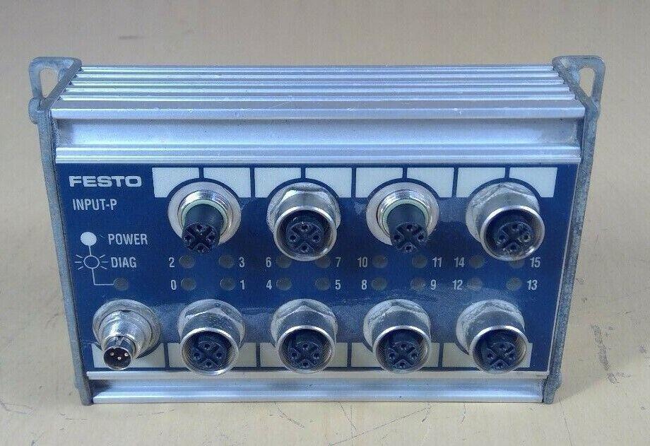 Festo CP-E16-M12X2 Input Module 18206                                         3H