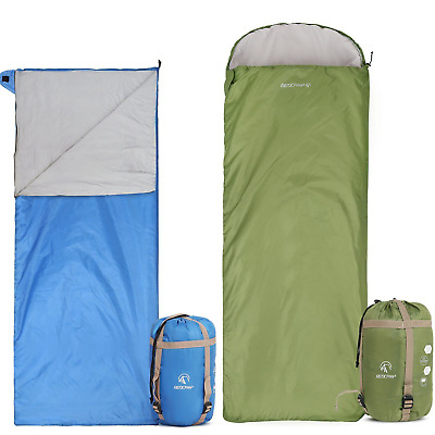 Redcamp Ultralight Sleeping Bag S For Backng With Compression Sack Ebay