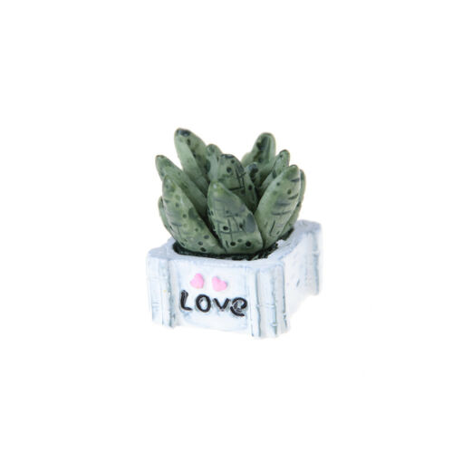1:12Miniature Green Plant In Pot For Dollhouse Furnitures Decoration Home Decor