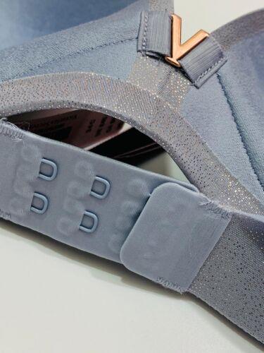 RRP £45 Victoria's Secret Padded No Wire Bra Sheer Grey