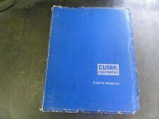 Clark Clarklift 50b Forklift Parts Manual X10b2