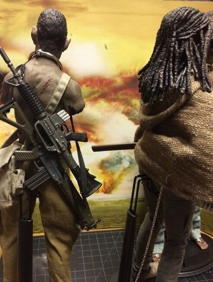 The Walking Dead Michonne And Pets, 1 6 Scale Action Action Action Figures d2cfda