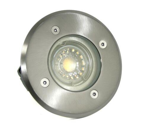 IP67 Begehbarer LED Bodeneinbaustrahler Bodo Aussenbereich//105 mm