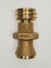Cavagna 661024 Male Forklift Propane Tank Connector Quick Closing Brass
