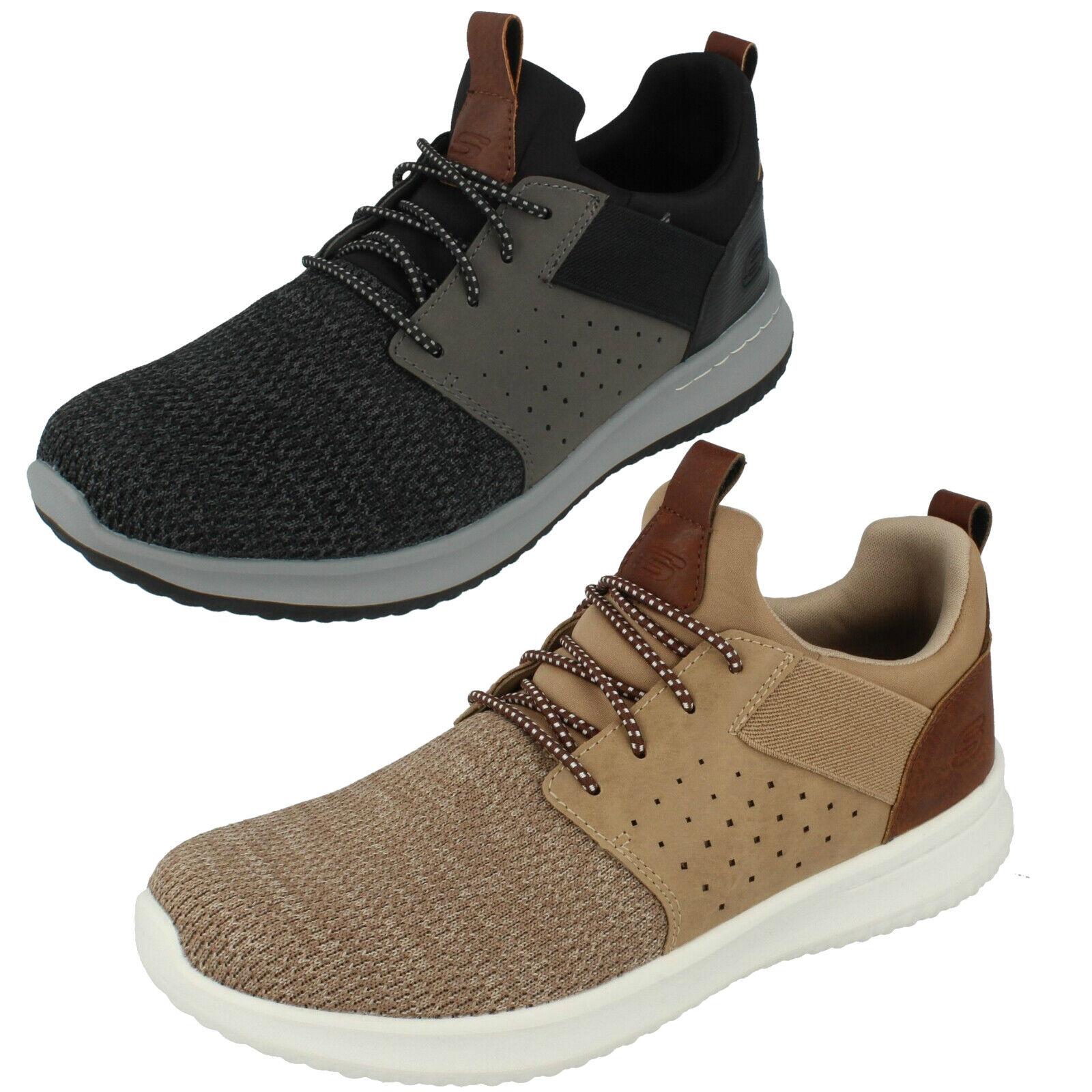 Hombre Camben 65474 sin Cordones Zapato por Skechers Corte Clásico Air Cooled