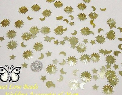 Wedding Table Scatters Confetti Celestial Hippie Mix