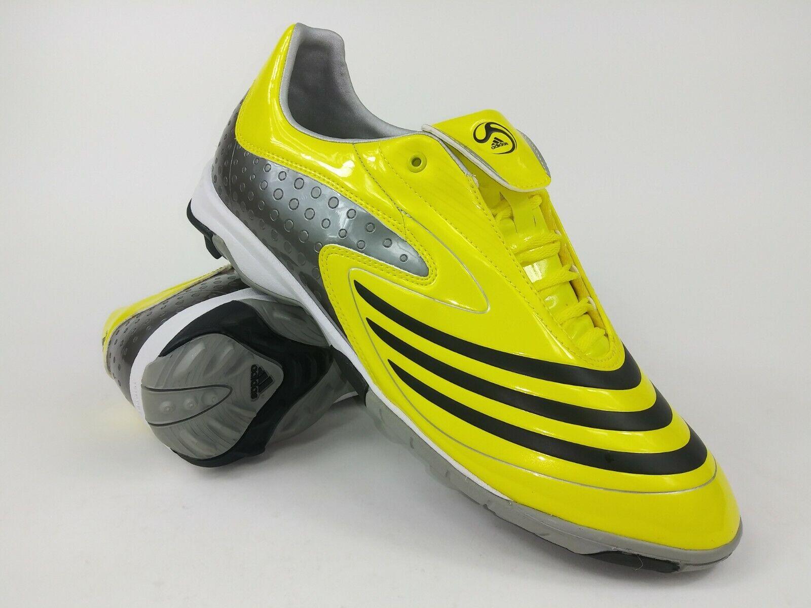 Adidas Hombre Raro F10.8 TRX Tf Amarillo gris 359006 Fútbol Soccer Zapatos Talla