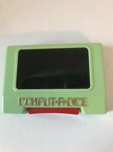 vtg computadice dice rolling machine comput a dice friction powered