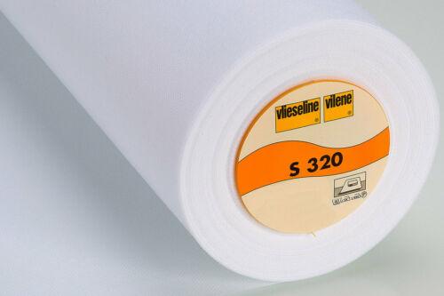 Vlieseline S320 weiß 45cm Meterware