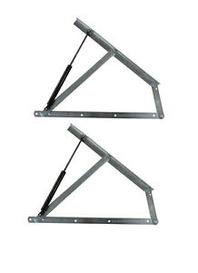 Image is loading Premium-Ottoman-Storage-Bed-Lift-up-Hinge-Mechanism-  sc 1 st  eBay & Premium Ottoman Storage Bed/ Lift up Hinge Mechanism u0026 Gas Strut | eBay