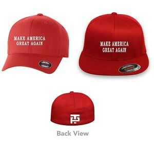 b4fe88ac436 MAKE AMERICA GREAT AGAIN TRUMP 2020 Flex Fit HAT  FREE SHIPPING in ...