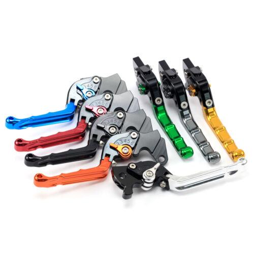 CNC Retro FoldingBrake Clutch Levers For CAGIVA Mito//Planet//Raptor//Superciy 125