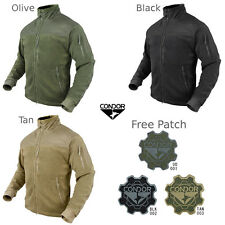 Condor 601 Tactical Military Hunting Alpha Micro Fleece Jacket ...