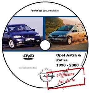 dvd cd workshop manual opel astra zafira 1998 2000 workshop manual rh ebay co uk Astra Cub 22 Short Opel Astra 2000 Manual