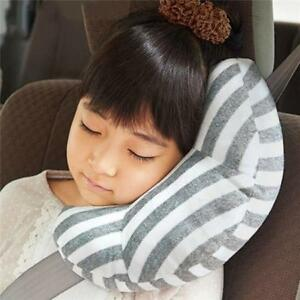 Creative Kids Headrest Car Auto Seat Belt Shoulder Pads Mat Sleep Support Pillow