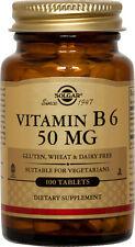 Solgar Vitamin B6 50mg 100 Tablets