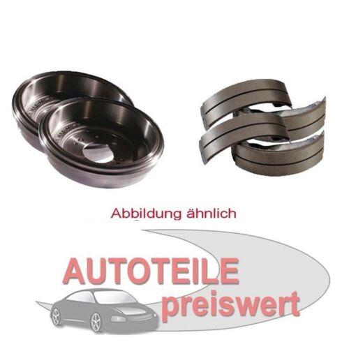 Zimmermann Bremstrommeln Bremsbacken hinten Fiat Grande Punto Opel Adam Corsa