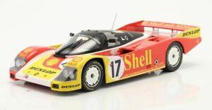 1:18 PORSCHE 962C Le Mans 88 Ludwig Wollek Andretti  NOREV 187413 187414 187415