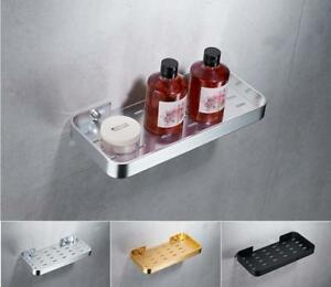Image Is Loading Stainless Steel Soap Dish Storage Holder Shelf Wall
