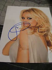 PAMELA-ANDERSON-SIGNED-AUTOGRAPH-8x10-PHOTO-BAYWATCH-PROMO-IN-PERSON-COA-AUTO-F